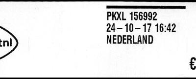 Nieuwe PostNL loketfrankeermachines