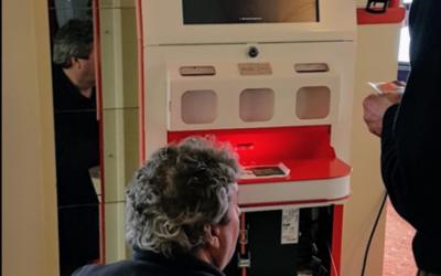 Postzegelautomaten op Filateliebeurs 2019