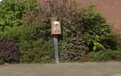 Postzegelboekjesautomaat gevonden in Woensel