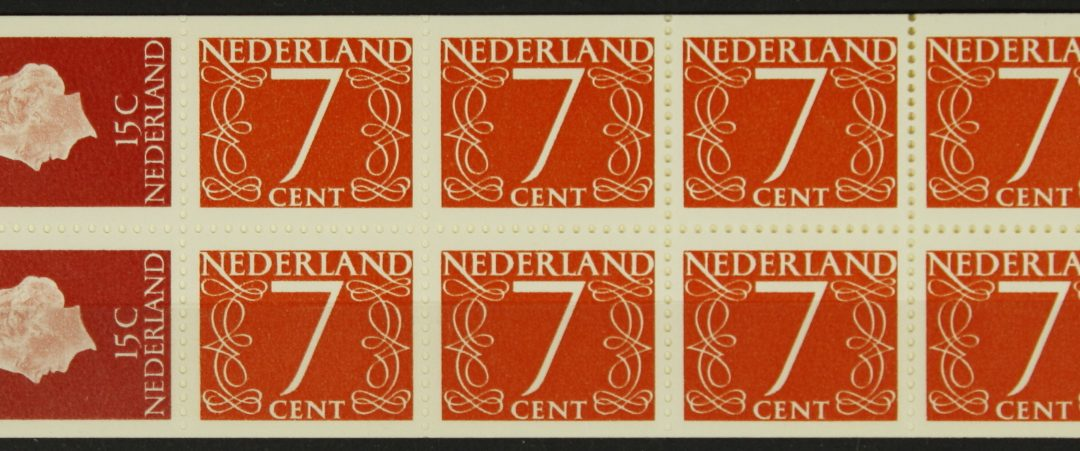 Postzegelboekjes 2017 en 2018